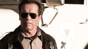 Arnold Schwarzenegger plays a lawman defending his small border town in 'The Last Stand'.