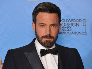 Ben Affleck with the Best Director Award poses in the press room at the 70th Annual Golden Globe Awards Ceremony, held at the Beverly Hilton Hotel in Los Angeles, CA on January 13, 2013.