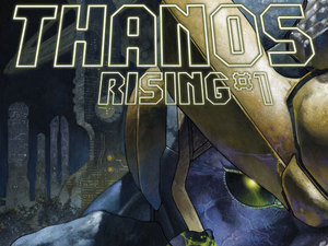 'Thanos Rising' #1 cover