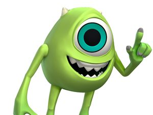 Disney Infinity artwork - Mike Wazowski