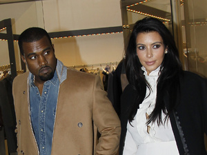 An expectant Kim Kardashian and her hip hop producer boyfriend, Kanye West spend time shopping together in ParisFeaturing: Kim Kardashian, Kanye West