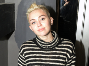Celebrities at the Sigma Sound Studios Featuring: Miley Cyrus Where: Philadelphia, United States When: 18 Dec 2012 Credit: Hugh Dillon/WENN.com