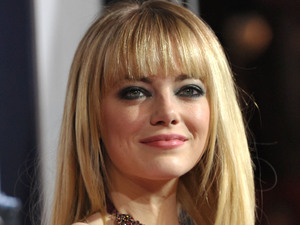 Emma Stone at the Gangster Squad premiere, January 7, 2013
