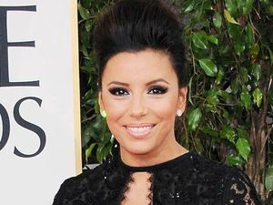Eva Longoria arriving at the 70th Annual Golden Globe Awards 2013 in Los Angeles 
