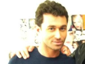 James Deen with Juan Carlos (as tweeted by Deen)