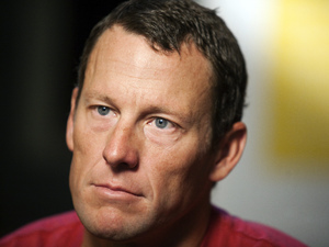 Lance Armstrong pictured in February 2011