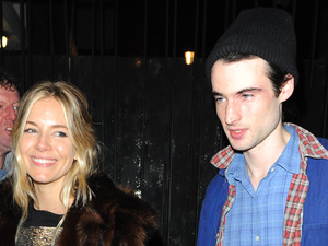 Sienna Miller and Tom Sturridge at the 'No Quarter' press night at the Royal Court Theatre Featuring: Sienna Miller,Tom Sturridge Where: London, United Kingdom