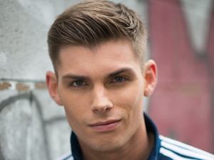 Kieron Richardson as Ste Hay in Hollyoaks