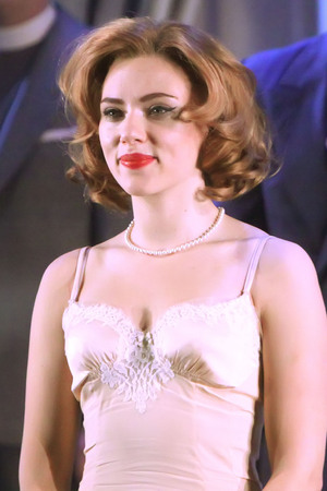 'Cat On A Hot Tin Roof' at the Richard Rodgers Theatre – Curtain Call Featuring: Scarlett Johansson Where: New York City, NY, USA