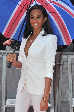 Alesha Dixon attends Britain's Got Talent photocall held at the London Palladium