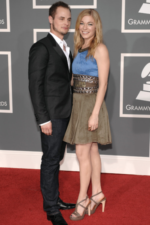 LeAnn Rimes with first husband Dean Sheremet at the 2009 Grammy Awards