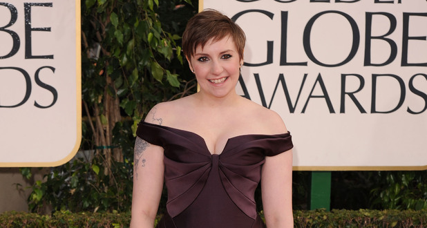 Lena Dunham, Golden Globes 2013