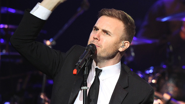 Editorial Use Only - Gary Barlow performs live at the Royal Albert Hall in London. Picture by: Suzan/Suzan/EMPICS Entertainment