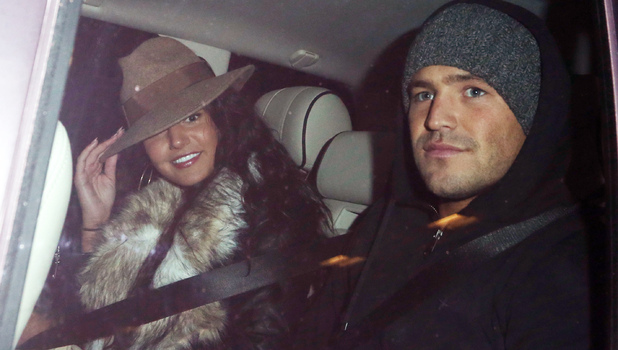 Mark Wright and Michelle Keegan spotted together late last night in Central LondonFeaturing: Michelle Keegan, Mark Wright