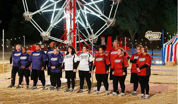 The Biggest Loser S14E03: The bubblegum challenge