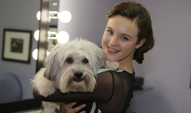 The National Television Awards 2013: Ashleigh and Pudsey
