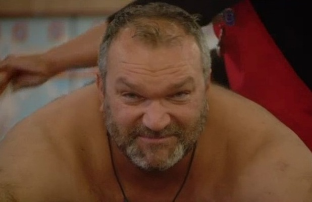 Razor Ruddock gets his back waxed