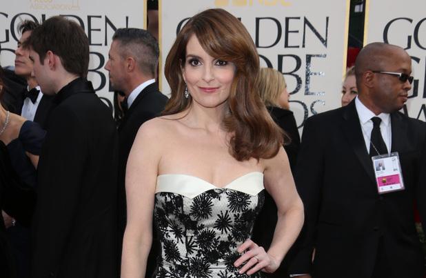 Tina Fey, Golden Globes 2013