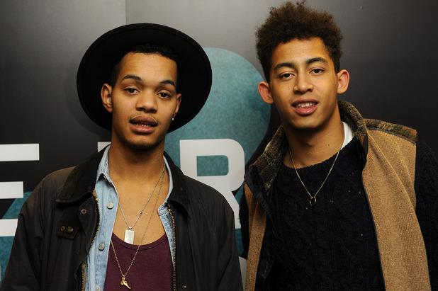 British hip hop duo 'Rizzle Kicks' perform one-off set as part of BT's Infinity series of events - Photocall Featuring: Rizzle Kicks, Jordan 'Rizzle' Stephens, Harley 'Sylvester' Alexander-Sule Where: London, United Kingdom