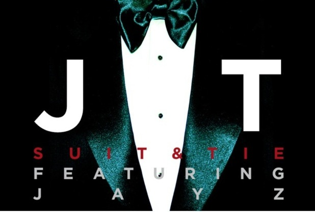 Justin Timberlake artwork for single, Suit and Tie.