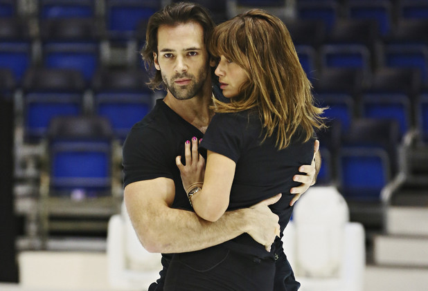 Samia Ghadie, Sylvain Longchambon, Dancing on Ice