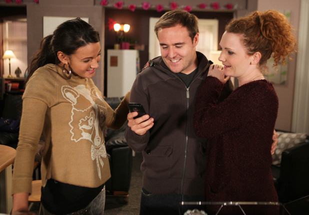 Kirsty allows Tyrone to see Ruby