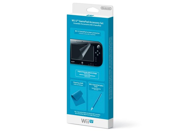 Wii U Gamepad accessory kit