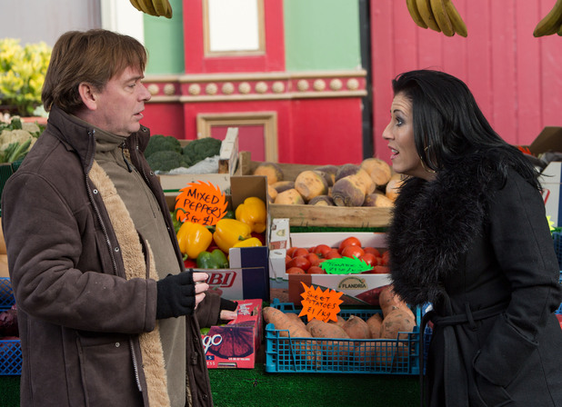Ian tells Kat that the other traders wouldn't welcome her and Bianca in the market.