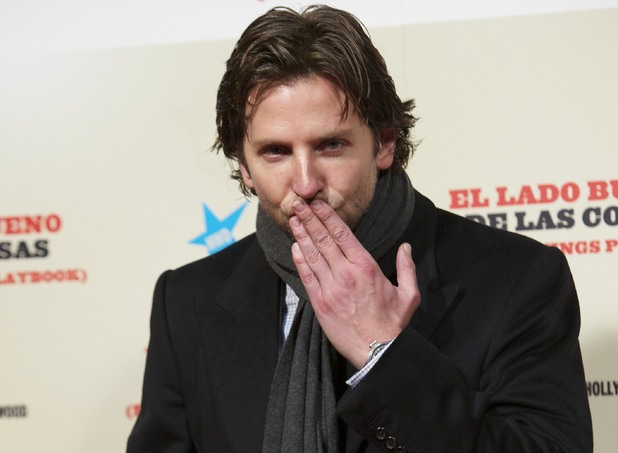 Bradley Cooper attends the film premiere of 'Silver Linings Playbook' in Madrid Featuring: Bradley Cooper Where: Madrid, Spain