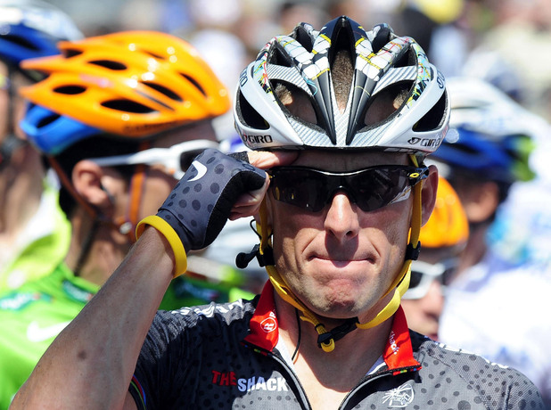 Lance Armstrong photographed in July 2010