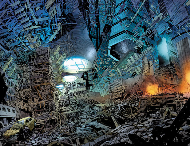 &#39;Age of Ultron&#39; #1 interior artwork