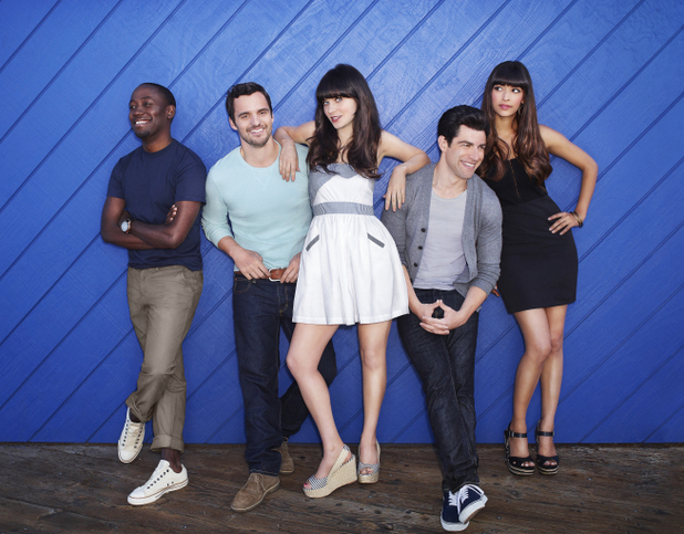 The cast of &#39;New Girl&#39;