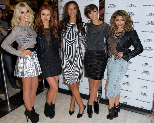'The Saturdays' sign autographs and meet fans to promote their new series on E! 'Chasing The Saturdays.'Featuring: Mollie King,Una Healy,Rochelle Humes,Frankie Sandford,Vanessa White