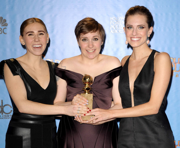 &#39;Girls&#39;: Lena Dunham, Allison Williams and Zosia Mamet