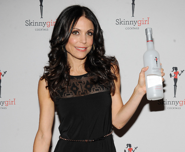 Bethenny Frankel at a Skinnygirl cocktails event in October 2012