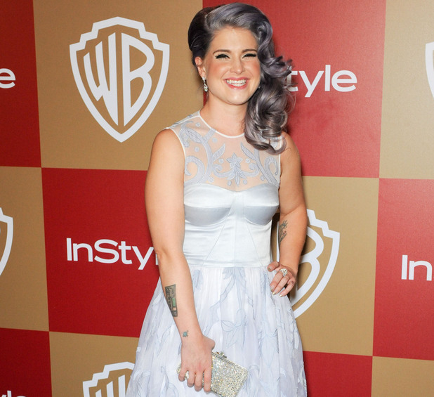 InStyle And Warner Bros. Golden Globe After Party at The Beverly Hilton Hotel - Arrivals Featuring: Kelly Osbourne Where: Beverly Hills, California, United States