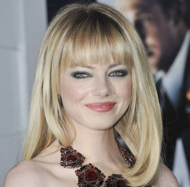 Emma Stone arriving at The Los Angeles World Premiere of 'Gangster Squad'