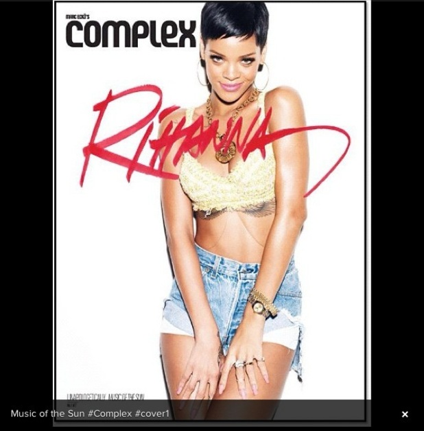 Rihanna Complex magazine covers