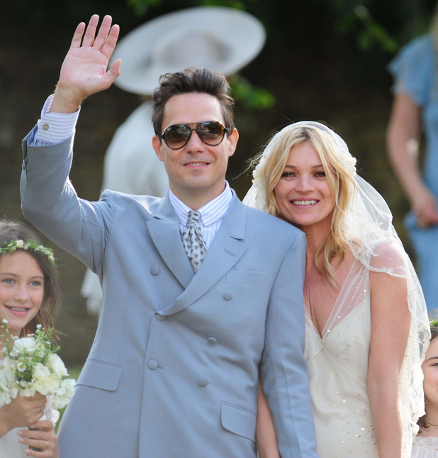 Kate Moss, Jamie Hince, wedding