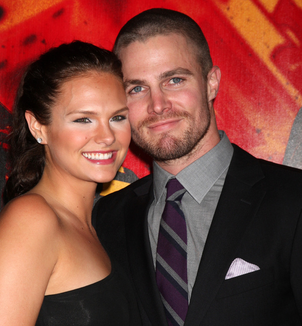 Cassandra Jean and Stephen Amell HBO's 'Luck' Los Angeles premiere held at Graumans Chinese Theatre Hollywood, California - 25.01.12