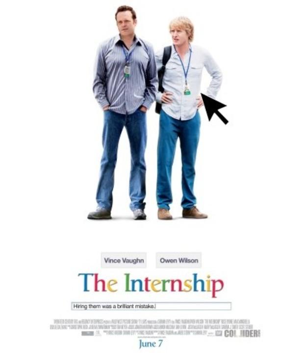 'The Internship' poster
