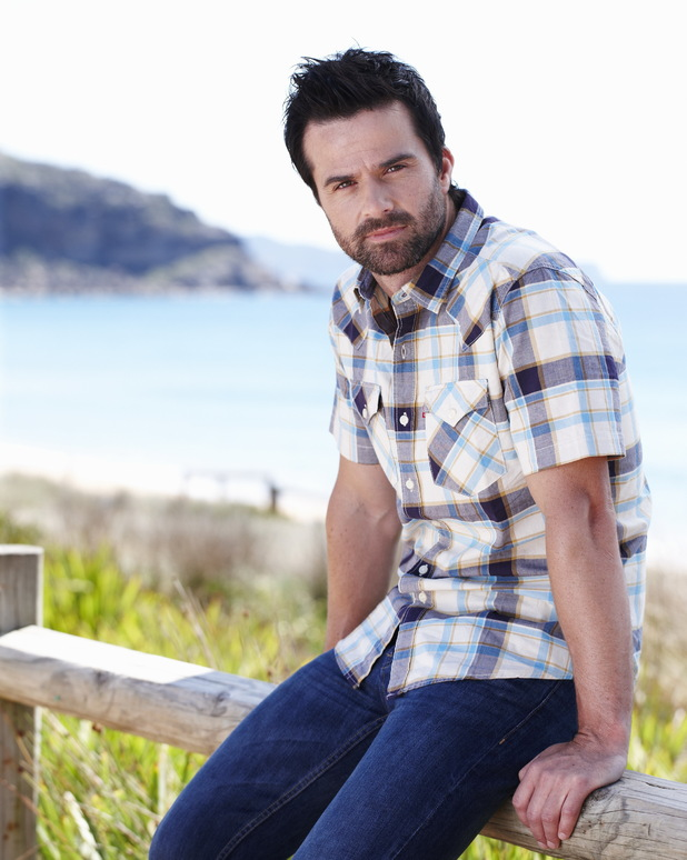 Charlie Clausen as Zac Maguire in Home and Away