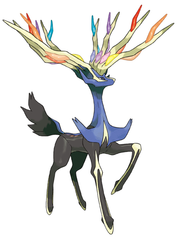 Xerneas - Pokemon X and Y - Digital Spy