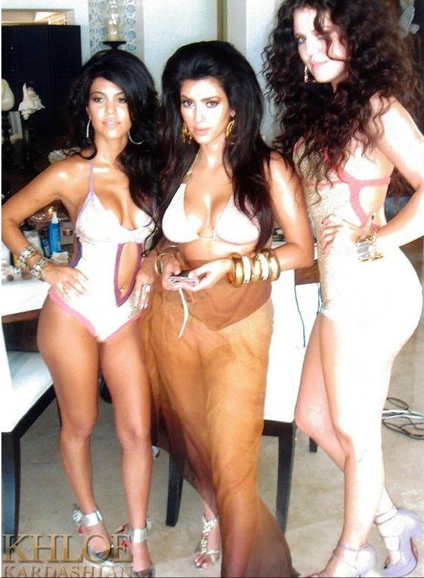 Next Khloe Kardashian shares a picture of herself and sisters Kourtney ...