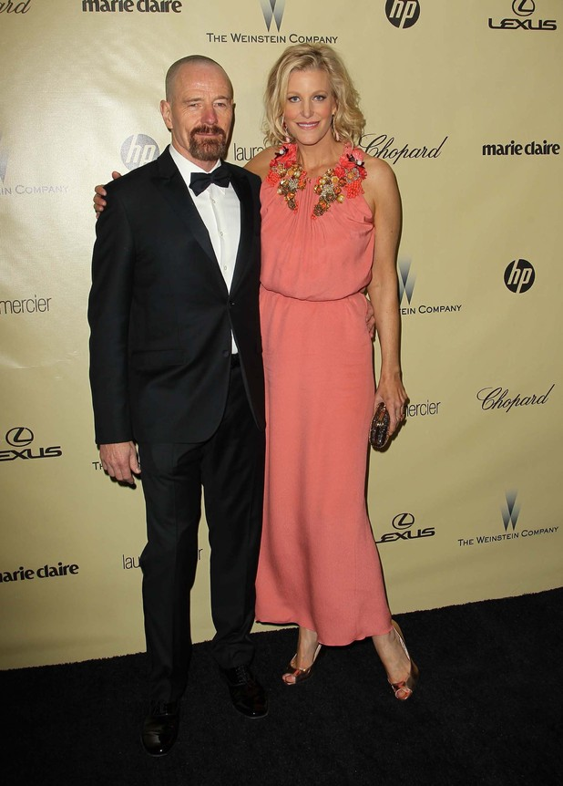 The Weinstein Company's 2013 Golden Globe Awards PartyFeaturing: Bryan Cranston, Anna Gunn
