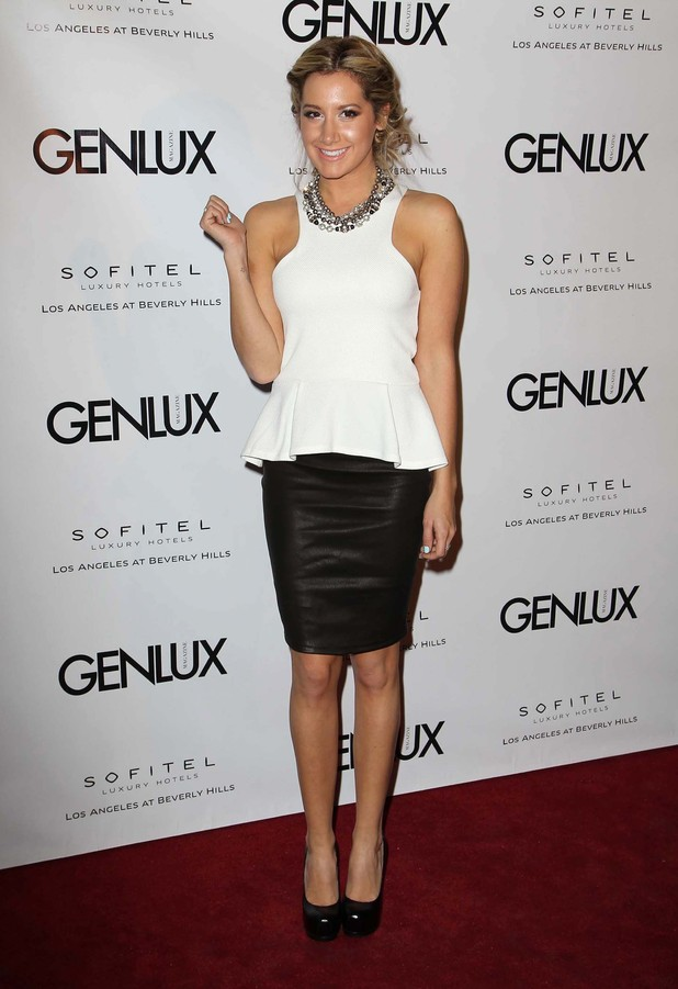 Genlux Magazine Cover Girl Kristin Chenoweth celebrates the Opening Of Riviera 31 held at The Sofitel Featuring: Ashley Tisdale Where: Los Angeles, California, United States
