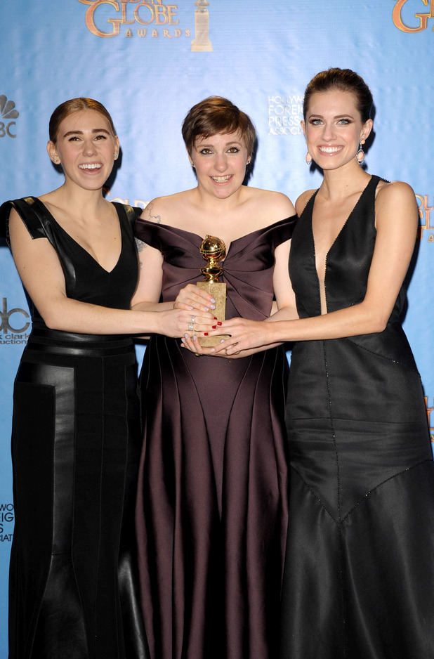 Lena Dunham, Allison Williams and Zosia Mamet