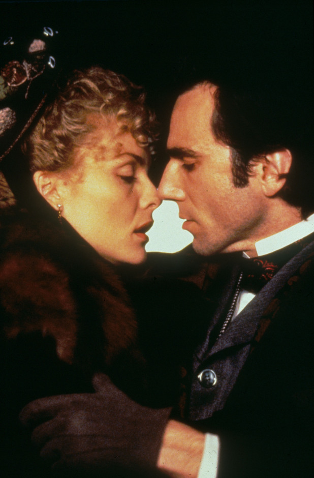 Michelle Pfeiffer and Daniel Day-Lewis