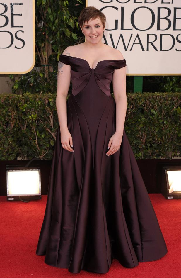 Lena Dunham, Golden Globes 2013