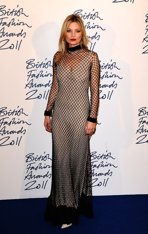 Kate Moss, British Fashion Awards 2011